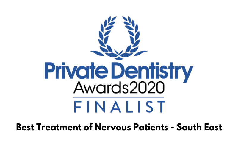 Private Dentistry Awards 2020 for: Best Treatment of Nervous Patients - South East