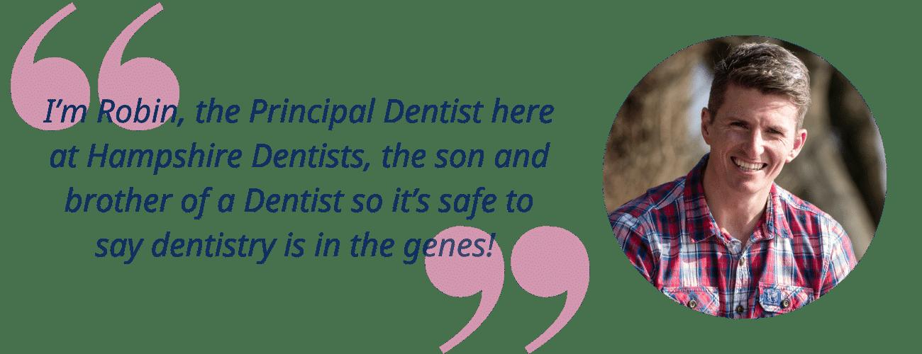 Robin Hanna Principal Dentist  GDC 82068